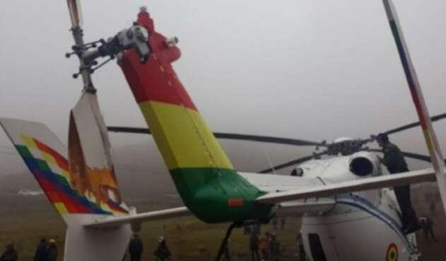 Helicóptero presidencial de Bolivia