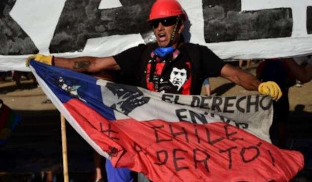 Un mes de manifestaciones en Chile
