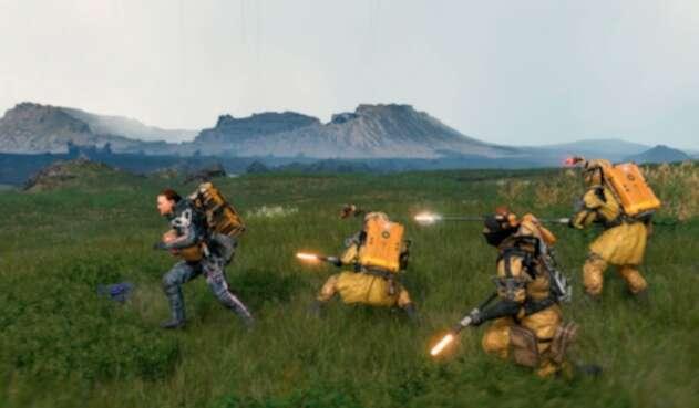 Imágenes capturadas del videojuego Death Stranding
