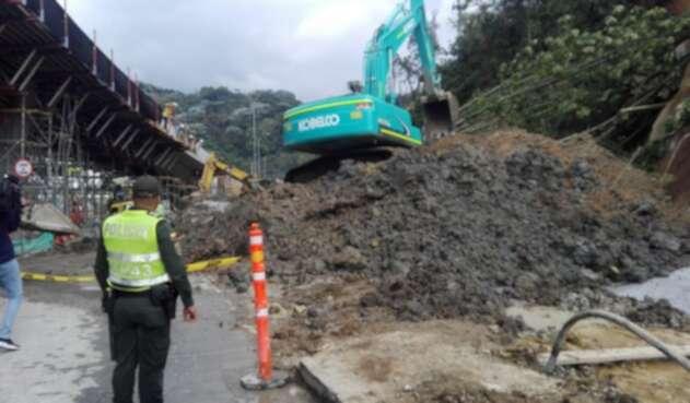 La ladera será monitoreada para evitar futuros deslizamientos.