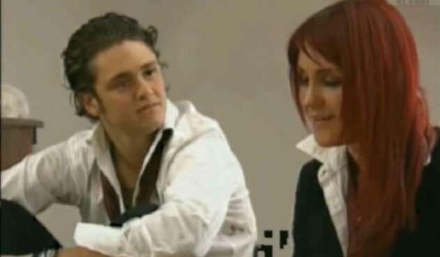 Diego y Roberta en Rebelde