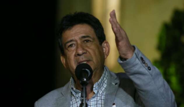 Diógenes Orjuela, presidente de la CUT