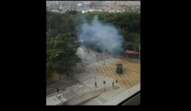 Disturbios en la U. Antioquia