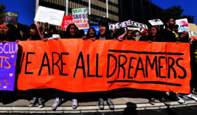 Manifestaciones de Dreamers en EE.UU.
