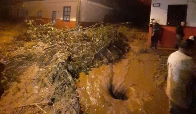 Durante la madrugada de este lunes se registró una emergencia en el municipio de Jericó en el departamento de Antioquia.