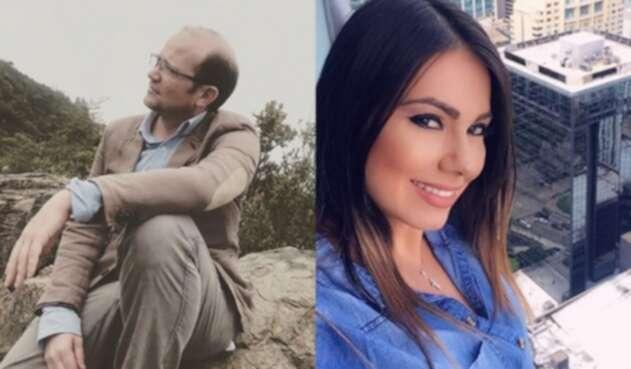 Esperanza Gómez y Daniel Samper Ospina