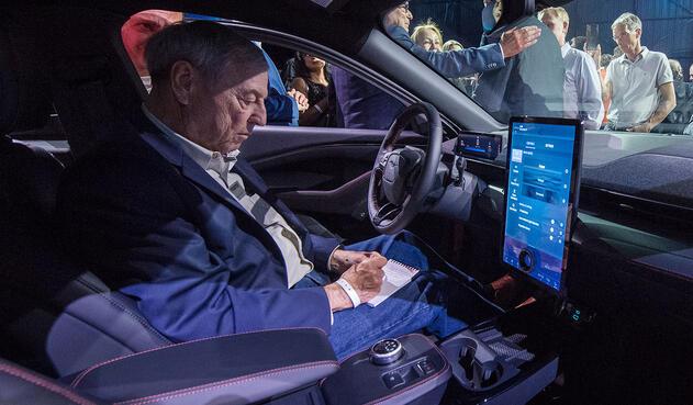 Ford presenta su auto eléctrico, el Mustang Mach-E