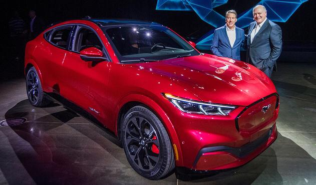 Ford presenta su Mustang eléctrico