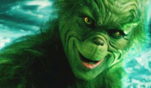 El Grinch, icónico personaje de Navidad.