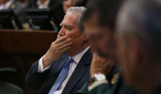 Guillermo Botero, ministro de Defensa en debate de moción de censura en su contra
