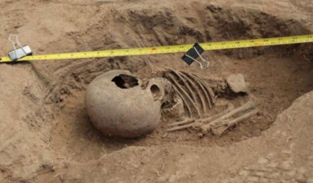 Hallan restos óseos en terrenos de universidad en Tunja