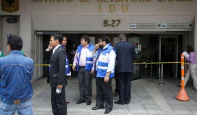 Sede del IDU, ubicada en el centro de Bogotá
