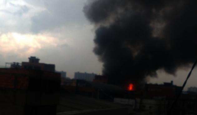 Incendio Bogotá