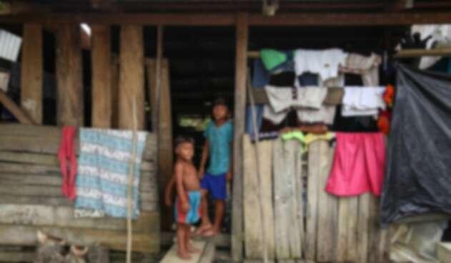 Indígenas en Cauca