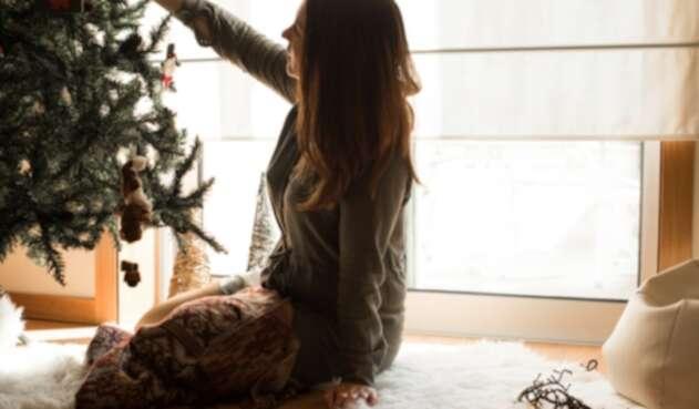 Decoración de árbol navideño