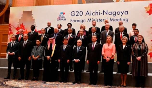 Integrantes del G20