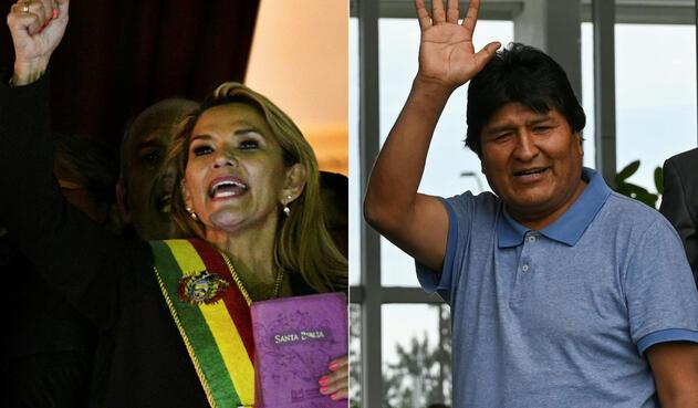 Jeanine Añez, presidente interina de Bolivia