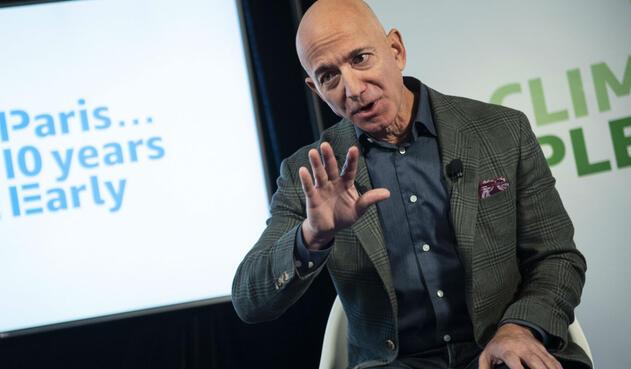 Jeff Bezos, dueño de Amazon