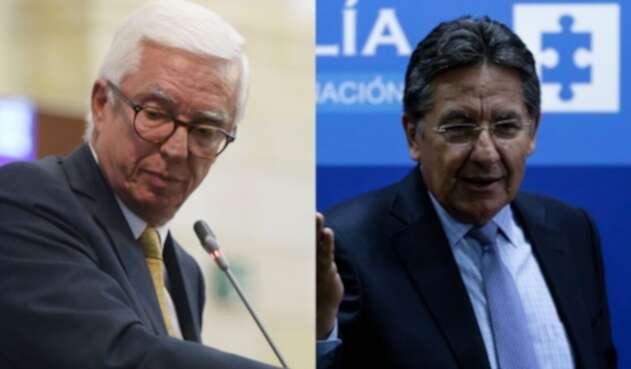 Jorge Robledo y Néstor Humberto Martínez