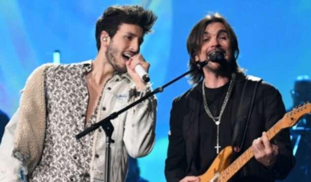 Juanes y Sebastián Yatra en los Grammy