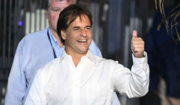 Luis Lacalle, nuevo presidente de Uruguay