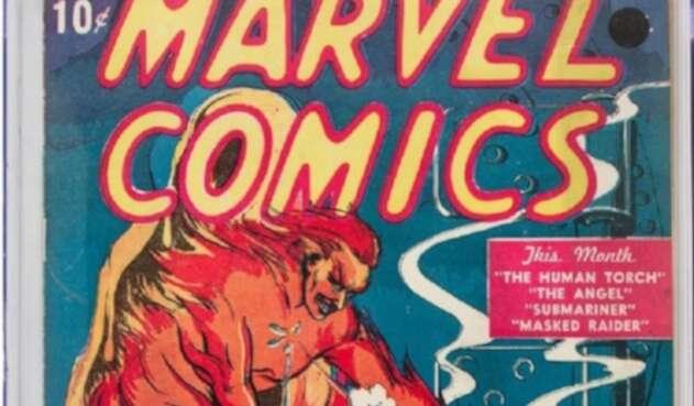 Subastan comic de Marvel