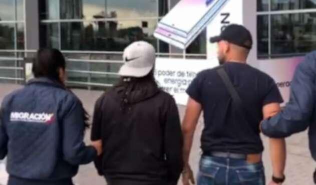 Extranjeros expulsados de Colombia