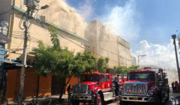 Incendio en Barranquilla