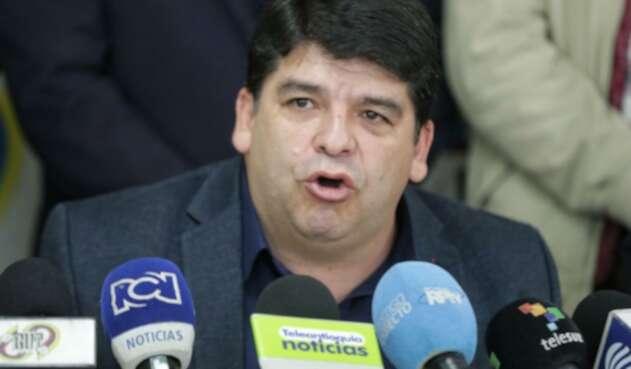Nelson Alarcón, presidente de Fecode