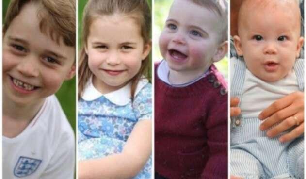 Niños de la realeza inglesa