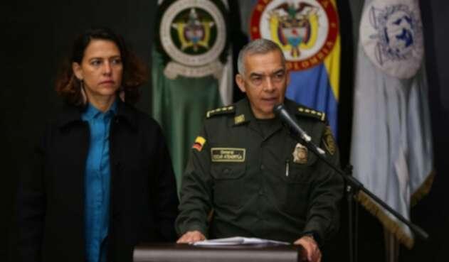 Director de la Policía, Óscar Atehortúa