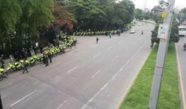 Paro 21 de noviembre Medellín