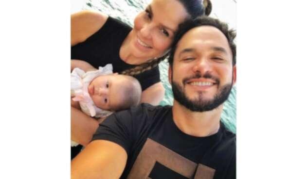 Paula Andrea Betancur y su esposo Luis Miguel Zabaleta