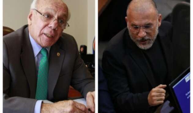 General Jaime Ruiz y Roy Barreras se enfrentaron