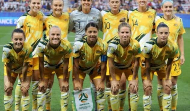 Selección Australia femenina