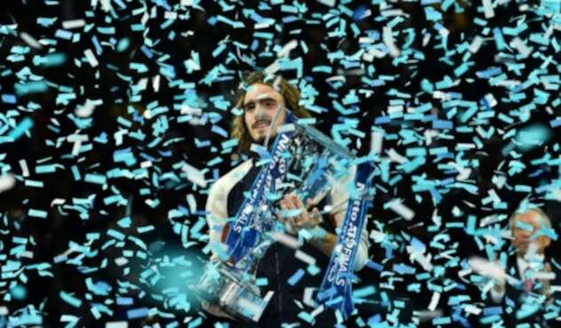 Stéfanos Tsitsipas, campeón Torneo de Maestros