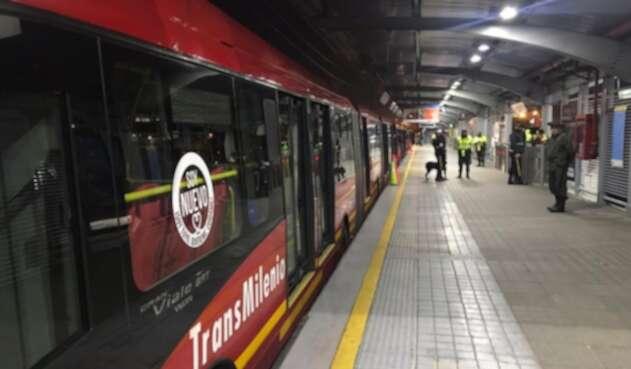 Transmilenio al norte de Bogotá, sin operación en la madrugada del 22 de noviembre