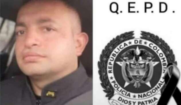 Oficial de la Policía asesinado en Cota, Cundinamarca.