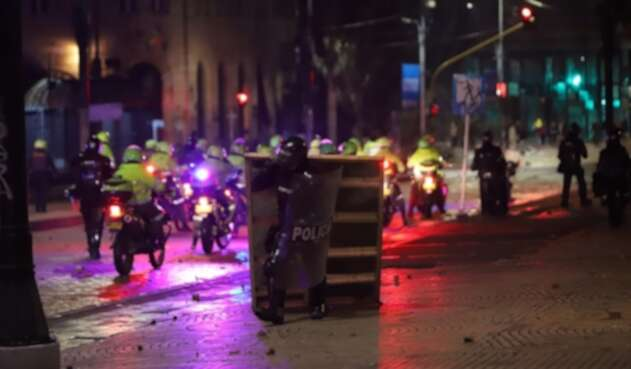 Disturbios en paro nacional del 21 de noviembre
