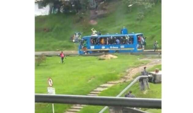 Robo de bus en Meissen