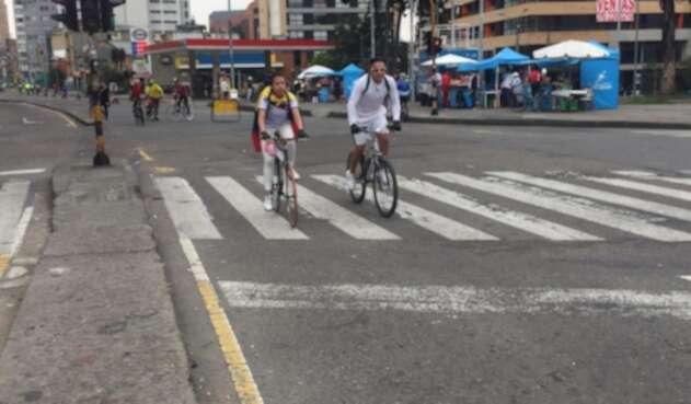 ciclovía Bogotana