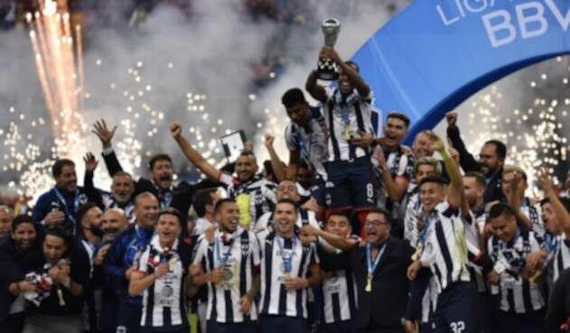 Monterrey de celebra su título