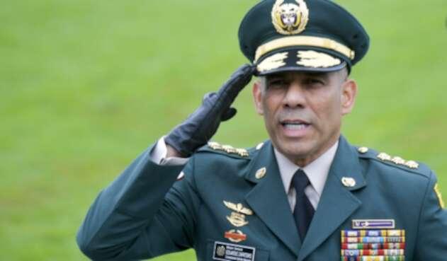 Eduardo Zapateiro, comandante del Ejército Nacional.
