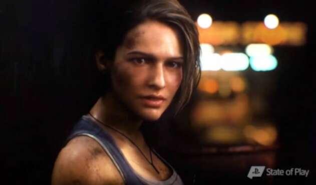 Jill Valentine, protagonista de Resident Evil 3