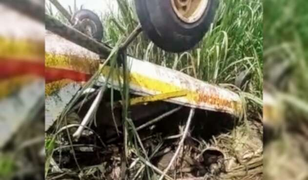 Accidente de Avioneta en Valle