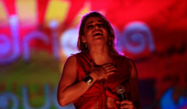 Adriana Lucía, cantante colombiana