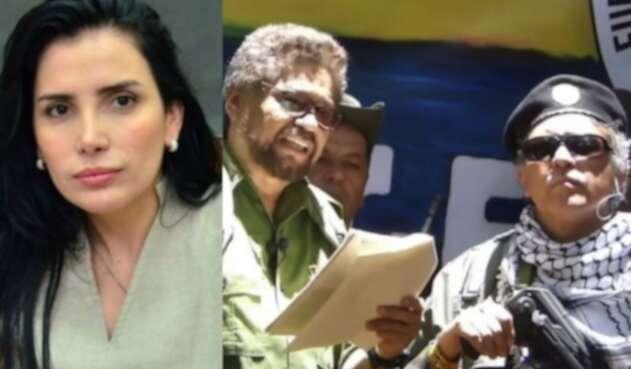 Aida Merlano, Iván Márquez y Jesús Santrich, los fugitivos de 2019.