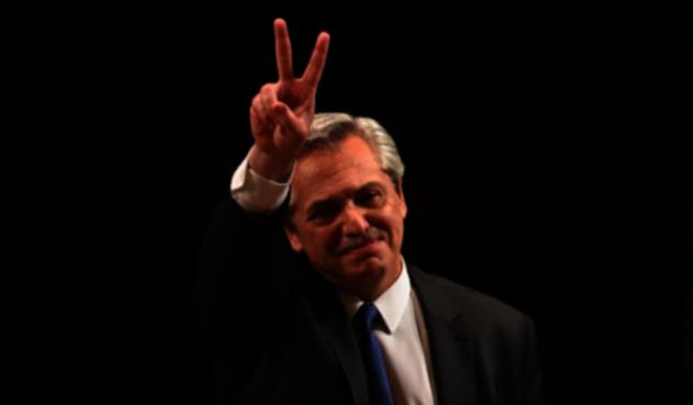 Alberto Fernández, presidente electo de Argentina