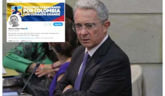 Uribe y Twitter