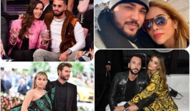 Maluma, Jessi, Miley, Ariadna y otros famosos que terminaron con sus parejas